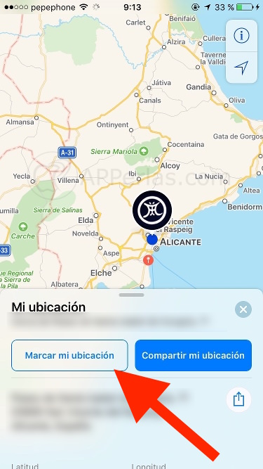 ios 10 beta 2 Mapas