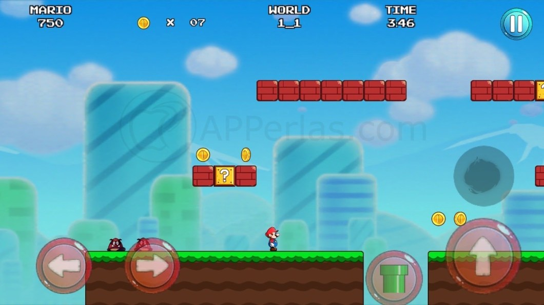 Mario Bros en iPhone y iPad
