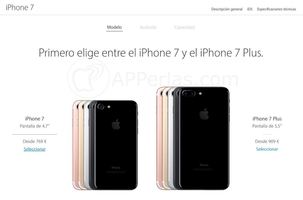 Comprar un iphone 7 sin esperas