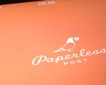 Crea invitaciones y postales personalizadas con Paperless Post