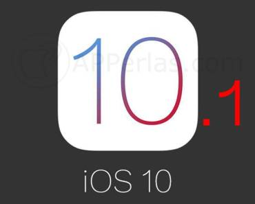 Nuevo iOS 10.1