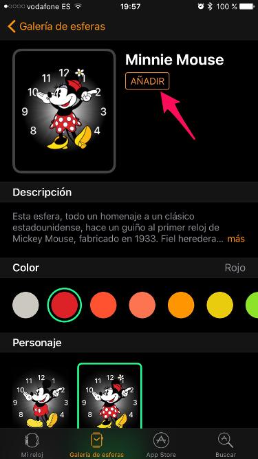 esferas para el Apple Watch 2
