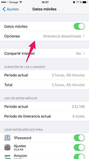 4G en el iPhone 1
