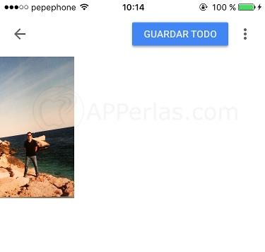 Escanear fotos en papel con PhotoScan