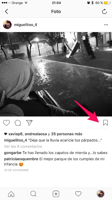 guardar las fotos de Instagram 1