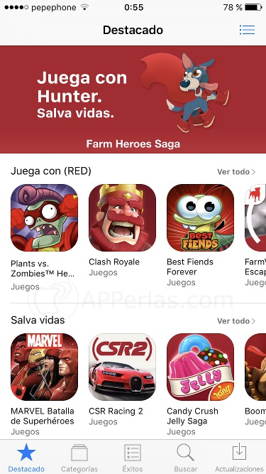 Apps Semana RED