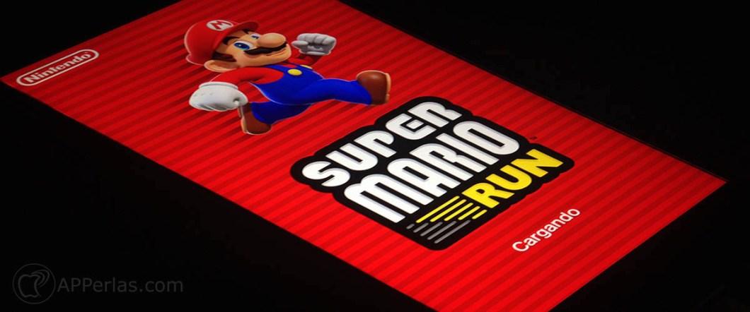 batería en Super Mario Run