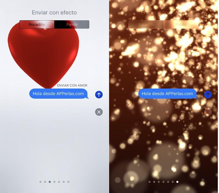 Mejoras en iMessage de iOS 10.2
