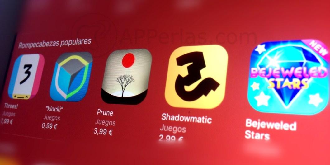 Juegos de rompecabezas para iOS