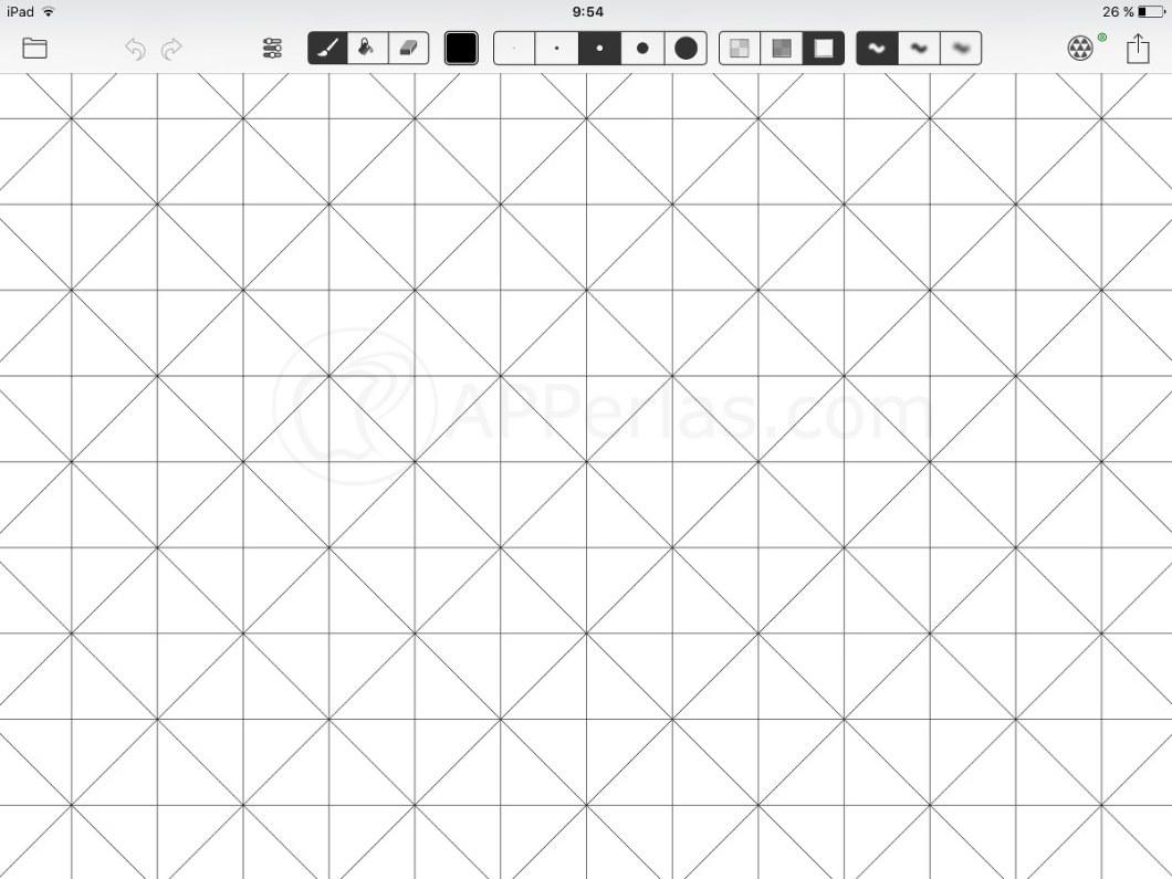 App de dibujo par iPad