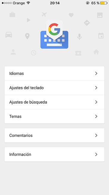Gboard ya disponible en español
