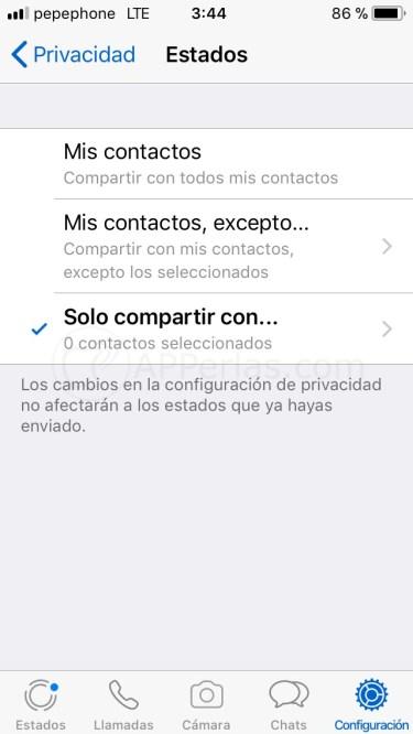 Cómo configurar Whatsapp