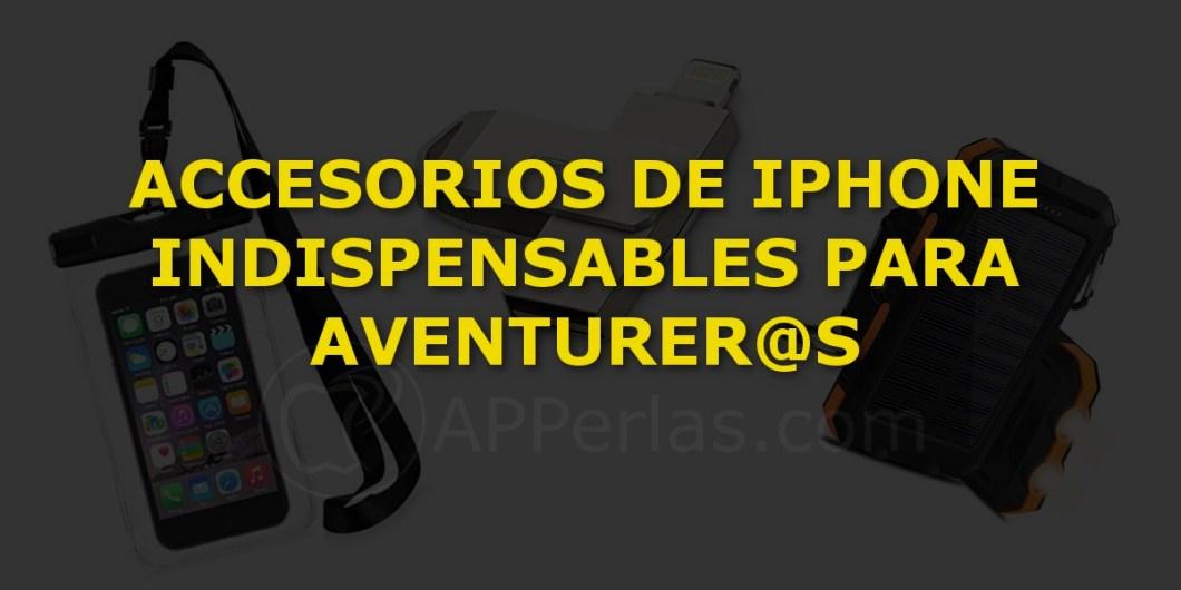 Accesorios para aventureros iphone
