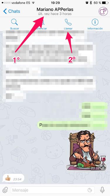 llamadas de voz en Telegram 1