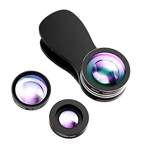 Accesorios de fotografía lentes