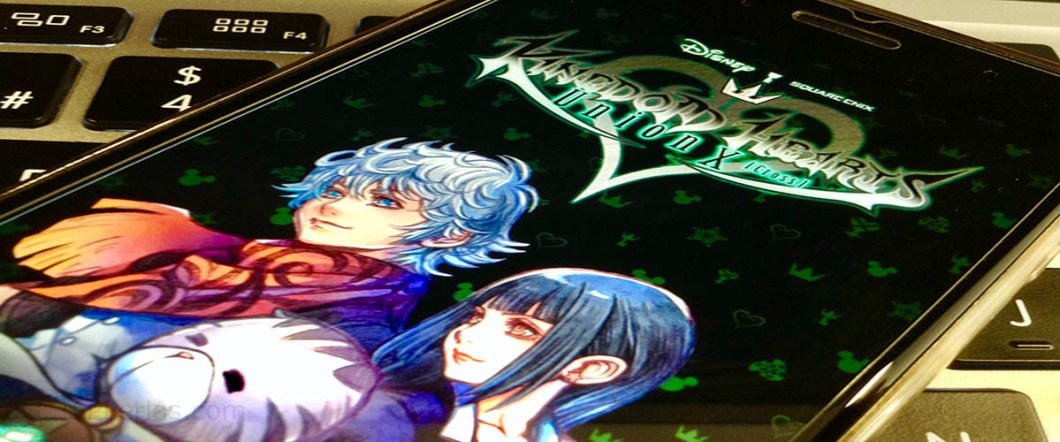 Kingdom Hearts Union X 4