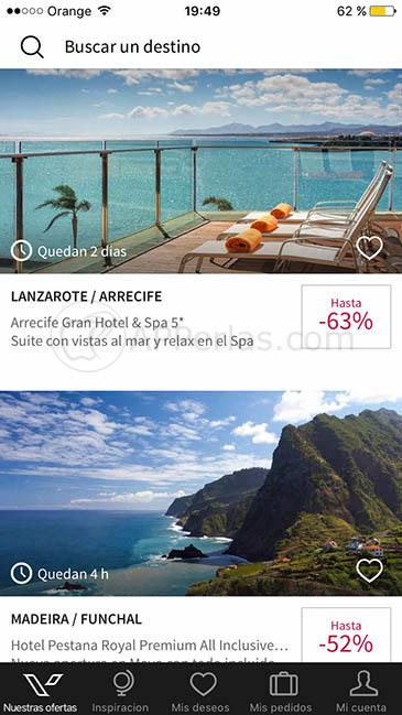 app para encontrar viajes baratos ios 2