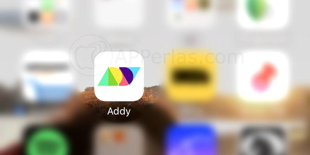 Addy, la app que permite escribir texto en fotos