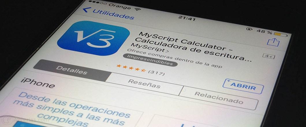 calculadora para iOS 1