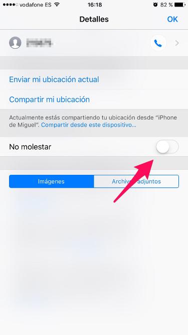 conversación de iMessage 2