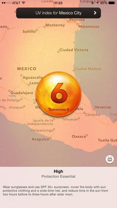 app protección solar Ultraviolet