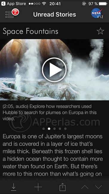 app para explorar el espacio 2