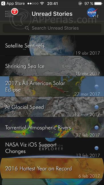 app para explorar el espacio 3