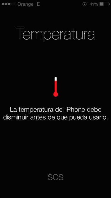 iPhone se calienta 1