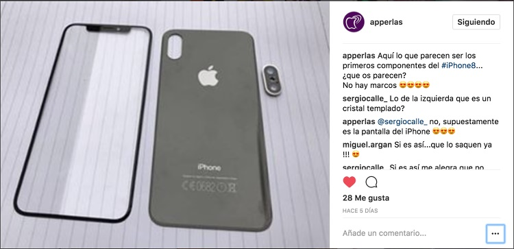 Nuevo iPhone 8 concept
