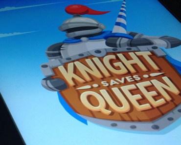 Juega con el caballo del ajedrez en Knight saves Queen