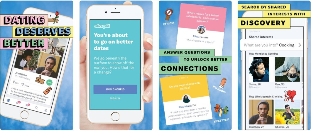 OkCupid buena app para ligar