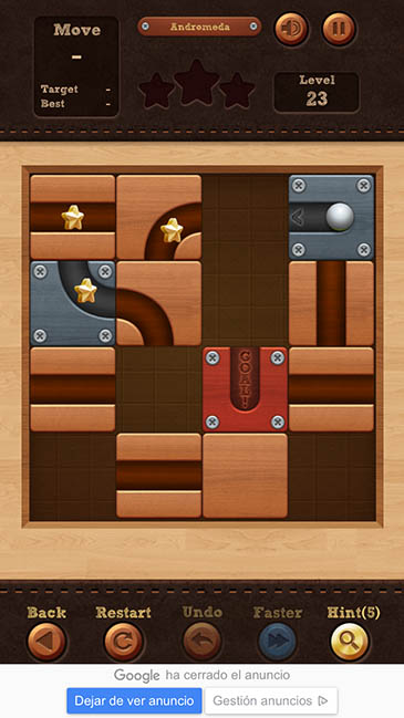 un adictivo juego Roll The Ball 3