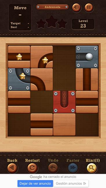 un adictivo juego Roll The Ball 3