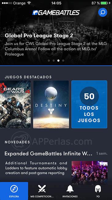 comunidad de esports para iOS 1