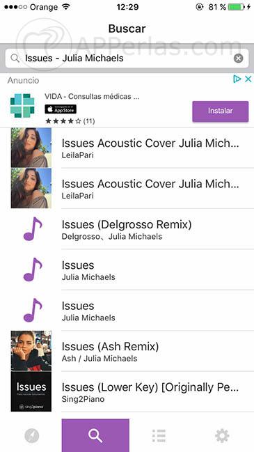 música gratis para iPhone 2
