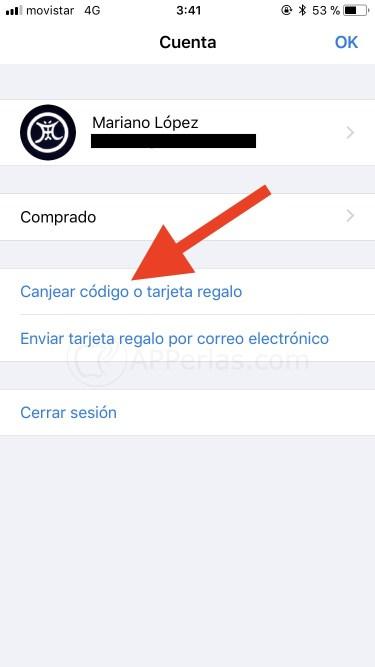 Consigue tu app pulsando esa opción