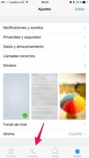 Agrega el icono de llamadas en Telegram para iPhone