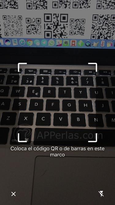 Escaner código QR Chrome