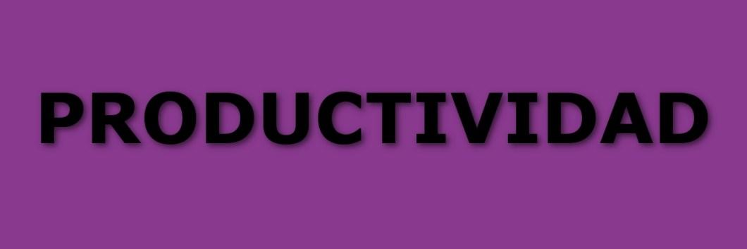 Aplicaciones de productividad