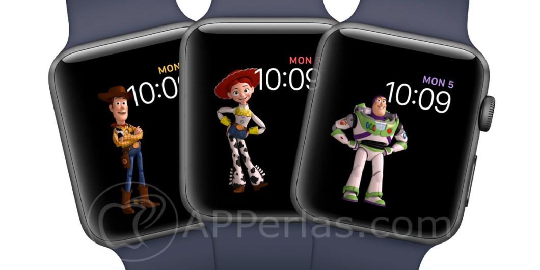 Toy Story en el Apple Watch