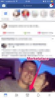 El Marketplace de Facebook ya está disponible en su app para iPhone