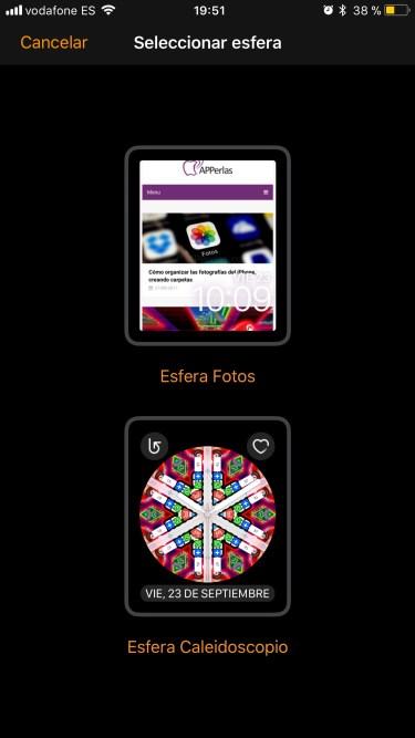 crear esferas del Apple Watch 2