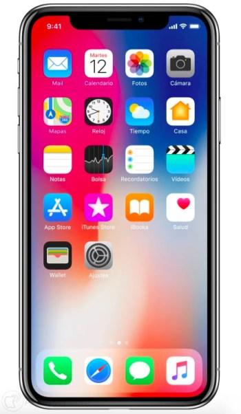 precio del iphone x en españa 1