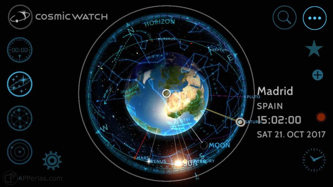 App de astronomía iphone ipad ios 2