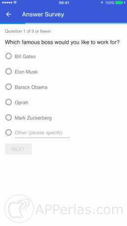 Google opinion rewards en ios 2