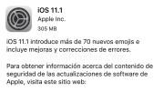 Novedades de iOS 11.1. ¿Solucionará los problemas del consumo de la batería?