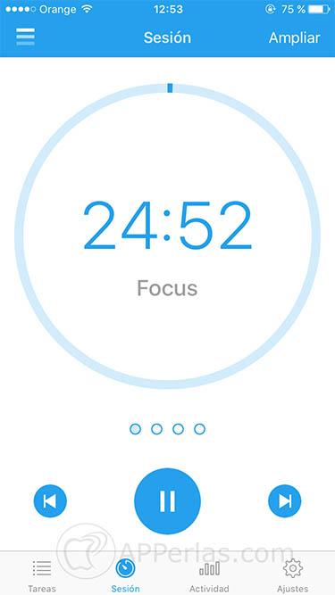 Aumentar tu productividad app focus 2 copia