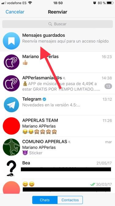 mensajes en Telegram 2