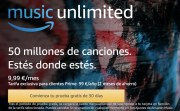 Escucha música GRATIS, hasta 3 meses, con Amazon Music Unlimited