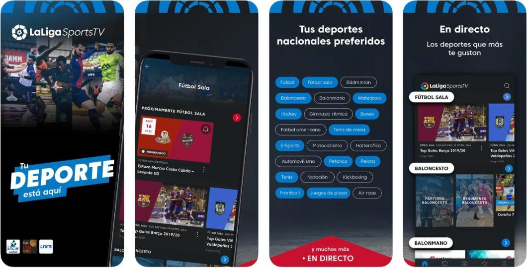 Deportes en directo en tu iPhone